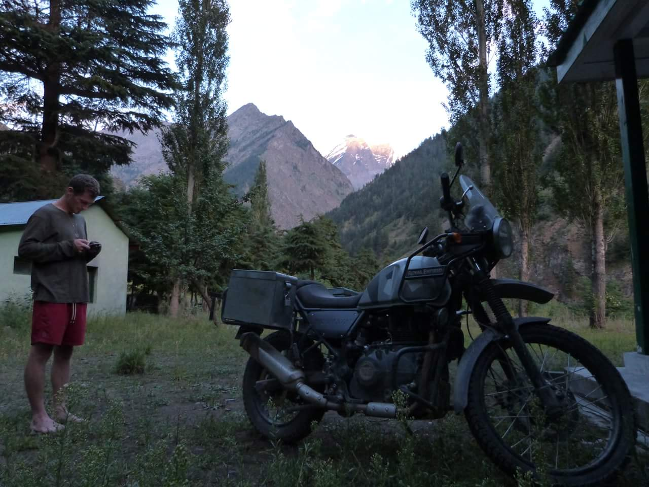 Royal Enfield Himalayan BS4 On Rent In Delhi