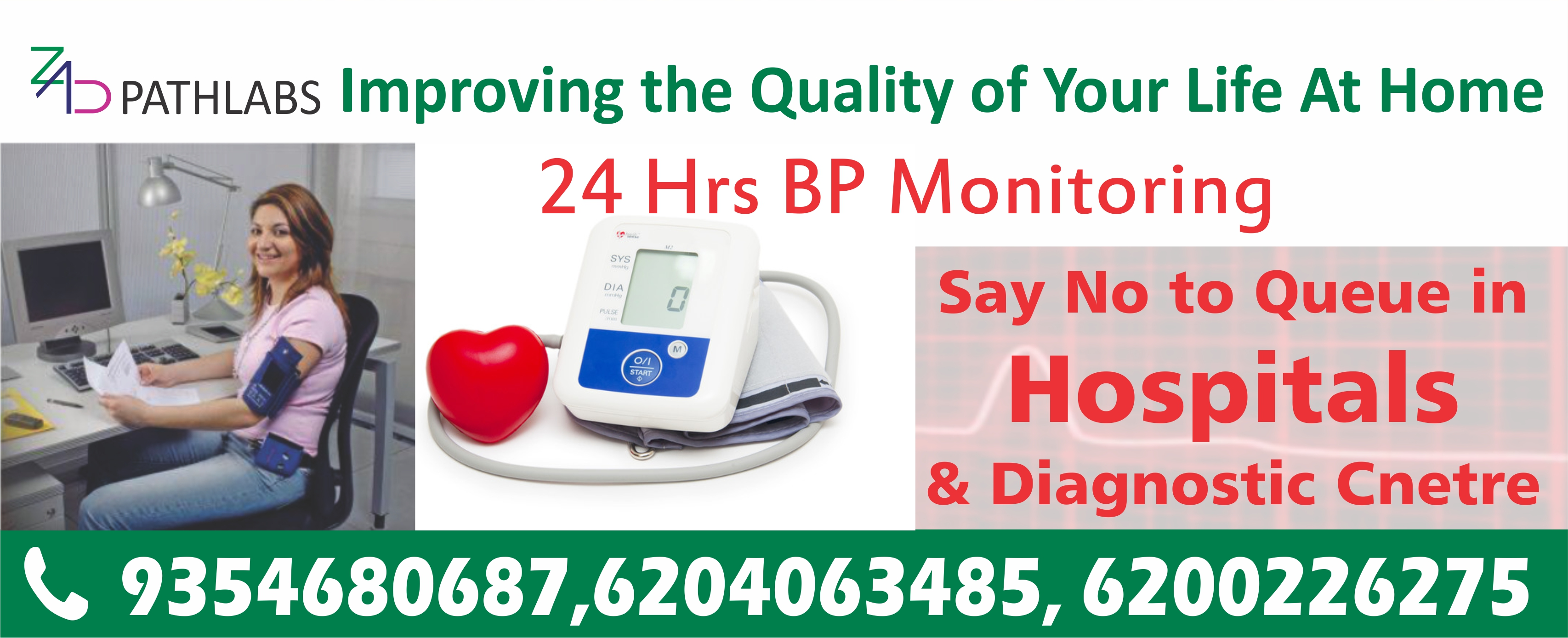 Zad Path Labs 6204063485 Ecg Test At Home In Bharat