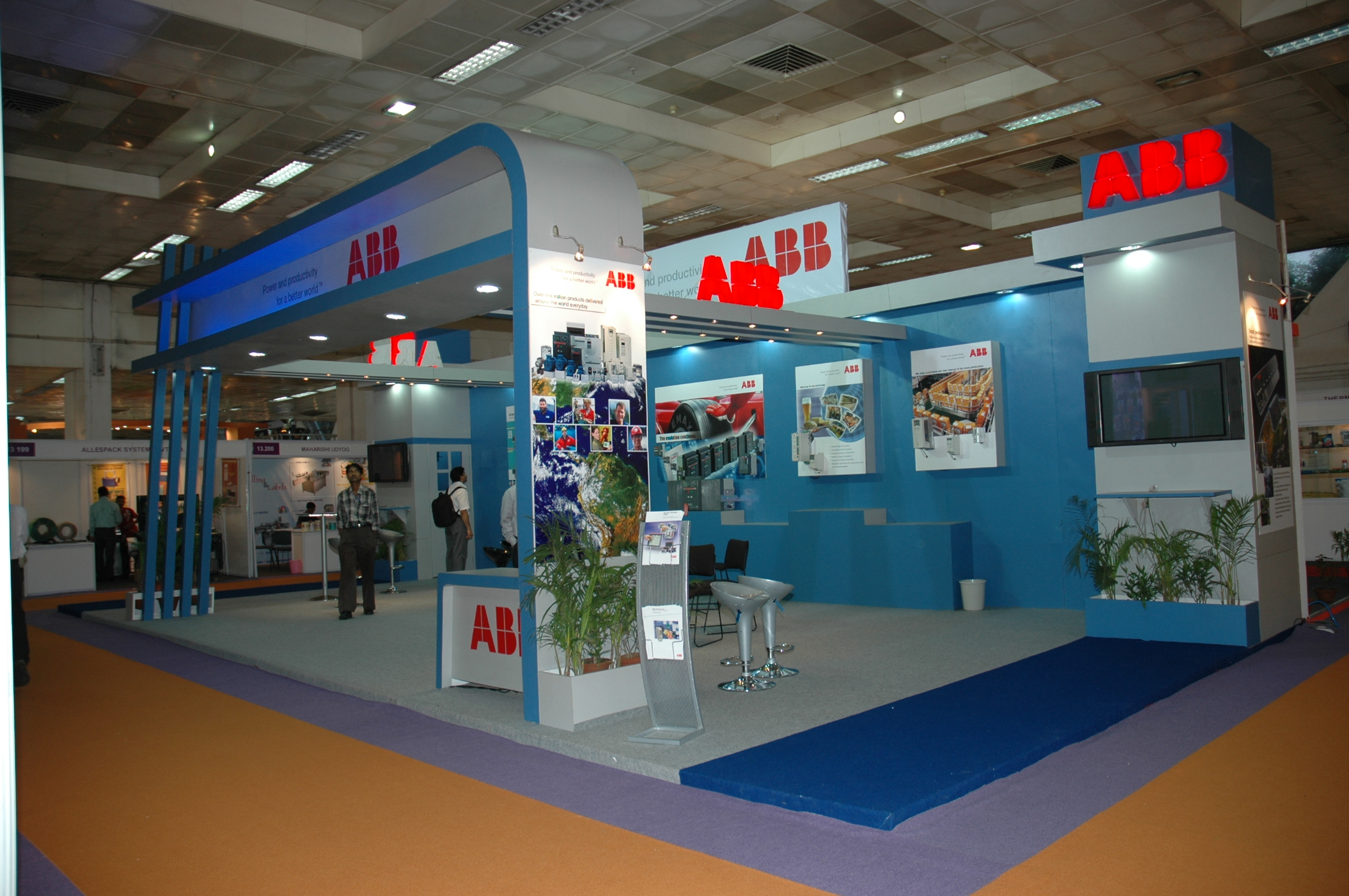 Exhibition Stall Makers in Delhi